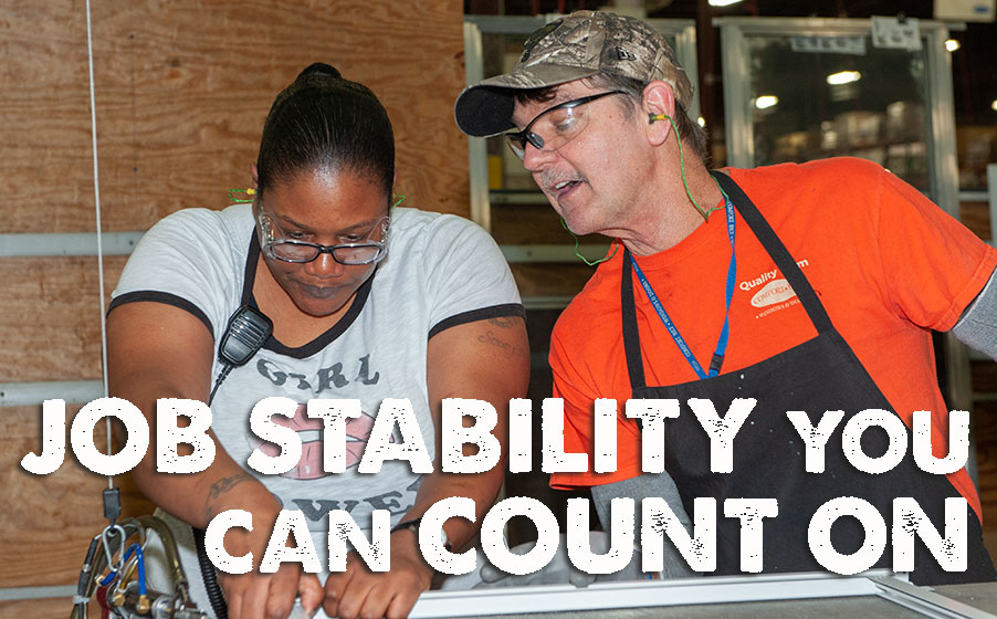 Count-On-Job-Stability